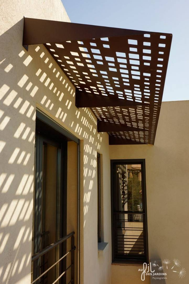 BuildDirect Africa Laser Cut Facade pergolas and shades